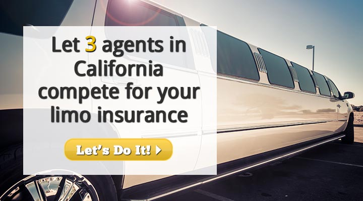 California Limousine Insurance Quotes