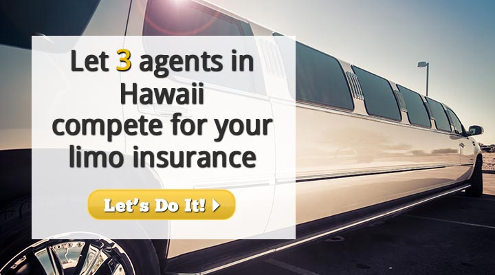 Hawaii Limousine Insurance Quotes